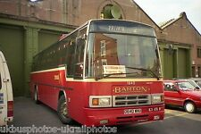 Barton Transport, Chilwell D640WNU Bus Photo Ref P1648