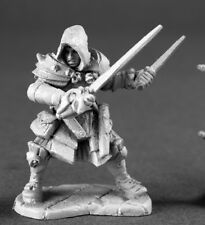 Drago Voss Assassin Reaper Miniatures Dark Heaven Legends Fighter Rogue Melee