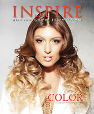 NEW Inspire Hair Fashion Book for Salon Clients Vol. 97 : Creative Color