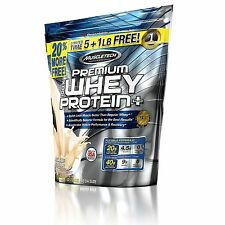New ! 2 X 6 lbs MuscleTech Premium Whey Protein -Deluxe  Vanilla  Resealable