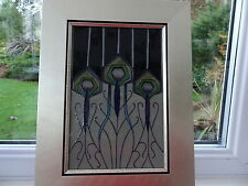 Moorcroft  Peacock Parade Plaque by Nicola Slaney 1st Quality New