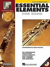 Essential Elements for Band Bk. 1 : Eb Alto Clarinet Bk. 1 (1999, Paperback)
