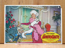 GLI ARISTOGATTI WALT DISNEY fotobusta poster The Aristocats Animazione Cartoon