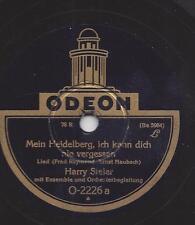Harry Steier singt: Mein Heidelberg, ich kann dich nie vergessen