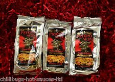 "Dr Burnorium's ""Psycho Ghost Pepper Nuts"" Killer Peanuts (3 bags)"