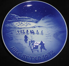 1972 Christmas in Greenland B&G Royal Copenhagen Porcelain Collector Plate