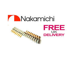 18x Quality Nakamichi Speaker banana plug 24k Gold plated connector **UK**