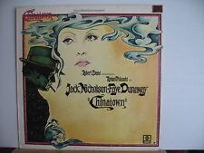 Roman Polanski CHINATOWN Jack Nicholson Faye Dunaway SOUNDTRACK LP Free UK Post
