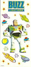 Disney Pixar Toy Story Buzz Lightyear Party Favor Scrapbook Sticker Decal Sheet