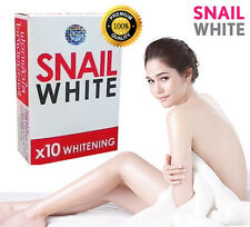 NEW!! SNAIL WHITE SOAP GLUTATHIONE X10 WHITENING SKIN/ANTI AGING/REDUCE ACNE
