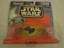 Star Wars Micro Machines Collection III-Vader's Tie Fighter, Y&X-Wing Starfght