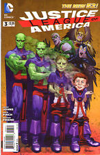 JUSTICE LEAGUE OF AMERICA #3 - New 52 - Mad Magazine VARIANT Cover