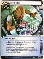 Android netrunner LCG - 1x Inside Job #021 - Cyber era Runner draft Pack