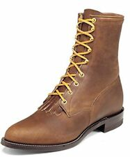 Justin Mens 545 Bay Apache Lace-r Boots 6EE New USA