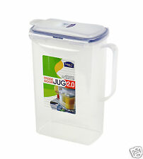 Lock & Lock 2 litre Rectangular Fridge Door Jug HPL735