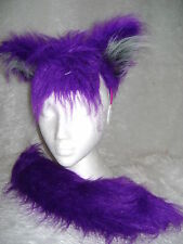 Kiera The Bat From Sonic The Hedgehog Ears And Tail Faux Fur Fancy Dress Set