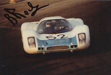 BRIAN REDMAN HAND SIGNED PORSCHE 6X4 PHOTO 4.