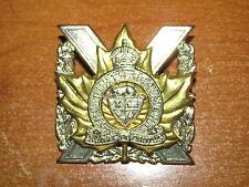 KC Canadian Cap Badge Perth Regiment nice