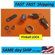 Pinball Machine & Video Game LOCK & Key Set - Universal fit replacement