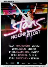 Stars - 2015-TOUR MANIFESTO-NO ONE IS LOST-TOUR Poster