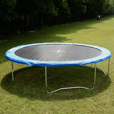 New 12 FT Round Trampoline Combo W/Spring Pad Cover Bounce Jump Exercise Fi