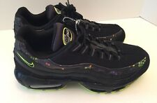 Nike Air Max 95 PRM City Light QS Black Volt Grey Rare SZ 10.5 538416-070 NEW