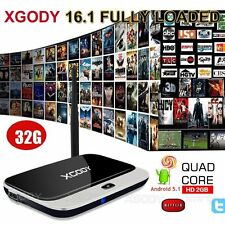 32GB XGODY 16.1 Fully Loaded WIFI 1080P Media Android 5.1 TV BOX Quad Core HDMI