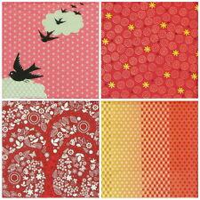 4x Carta Singola Tavola FESTA TOVAGLIOLI PER DECOUPAGE Craft Vintage Colore Rosso Mix