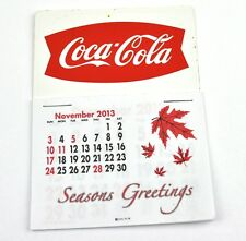 Coca Cola Coke USA Calendrier 2014 calendrier - Queue de poisson Logo rouge