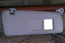 BMW 3SERIES E36 93-00 SALOON DRIVERS/RIGHT SIDE GREY SUN VISOR WITH MIRROR