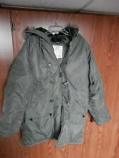 Vintage Rothco Military N-3B Hood Snorkel Parka Coat size extra small VGC cold