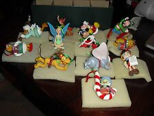 DISNEY COLLECTIONS GROLIER CHRISTMAS MAGIC Lot of 12 ornaments