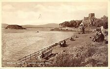 BR62926 dunollie castle and maiden island oban real photo    scotland