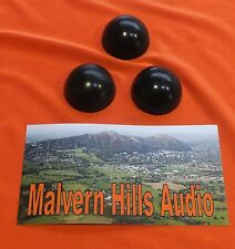 A SET OF 3  x SORBOTHANE 30 mm. HI-FI ISOLATION FEET/SPHERES - IMPROVE SOUND