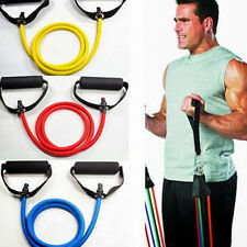 Body Exercise Latex Resistance Bands Tube Workout Gym Yoga Chest Expander 120cm