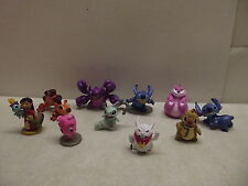 DISNEY EXCLUSIVE LILO & STITCH ALIEN ACTION FIGURES PLAYSET PVC SET OF 10 100%