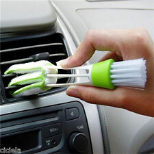 Utility Car Double Head Brush Broom Duster Dash Board Keyboard Cleaning Random