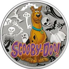 Niue 2013 1$ Cartoon Characters SCOOBY DOO .925 Proof Silver Coin