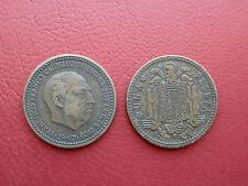 1 PESETA FRANCO 1947-52 ESPAÑA BONITA