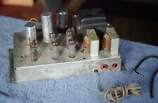 Nice Vintage RCA Stereo Tube Power Amplifier w/ 4 6BQ5/EL84 Tubes RS177F RVA274