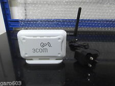 HP 3Com Office Connect Wireless 54 Mbps 11g Access Point 3CRWE454G75 With PSU