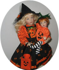 """SPECIAL HALLOWEEN OUTFITS PATTERN FOR  14"""" KISH & 8"""" KISH BABY!!"""