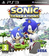 Sonic Generations Ps3 (no disco, juego-digital)
