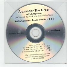 (FE866) Alexander The Great, A Folk Operetta - DJ CD
