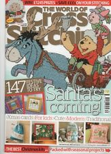 World of Cross Stitching Magazine Issue 170 Disney Pooh, Fairies ABC, xmas cards