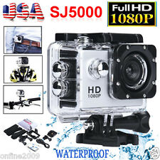 SJ5000 12MP Full HD 1080P Action Camcorder Waterproof Sport DV Camera Car Cam US