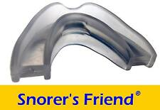 Snorer's Friend mouthguard mouthpiece mandibular advancement splint stop snoring