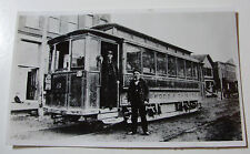 USA820 ENGLEWOOD & CHICAGO Street Railway TROLLEY CAR No6 PHOTO Illinois USA