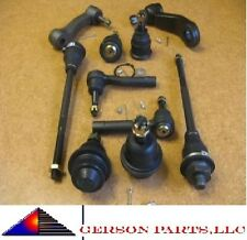 Lower&Upper Ball Joint Inner&Outer Tie Rod Pitman & Idler Arm Chevy GMC Hummer