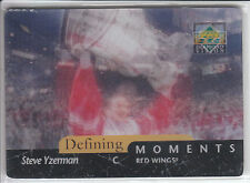 STEVE YZERMAN 1997/98 UD Diamond Vision DEFINING MOMENTS- RARE!